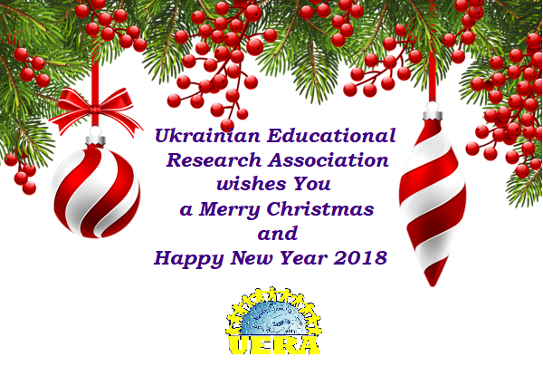 Merry christmas and happy new year 2018 ukrainian educational mc m4hsunfo